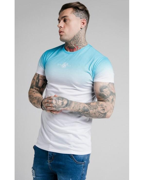 Camiseta M/L Blanca Rayas Mangas - SikSilk